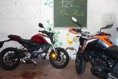KTM und Honda A1 125ccm